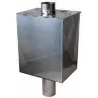 Бак на трубе 60л, 1 мм, AISI 430