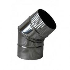 Отвод 45° (нерж. 0,5 мм)