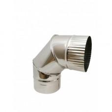 Отвод 90° (нерж. 0,5 мм)