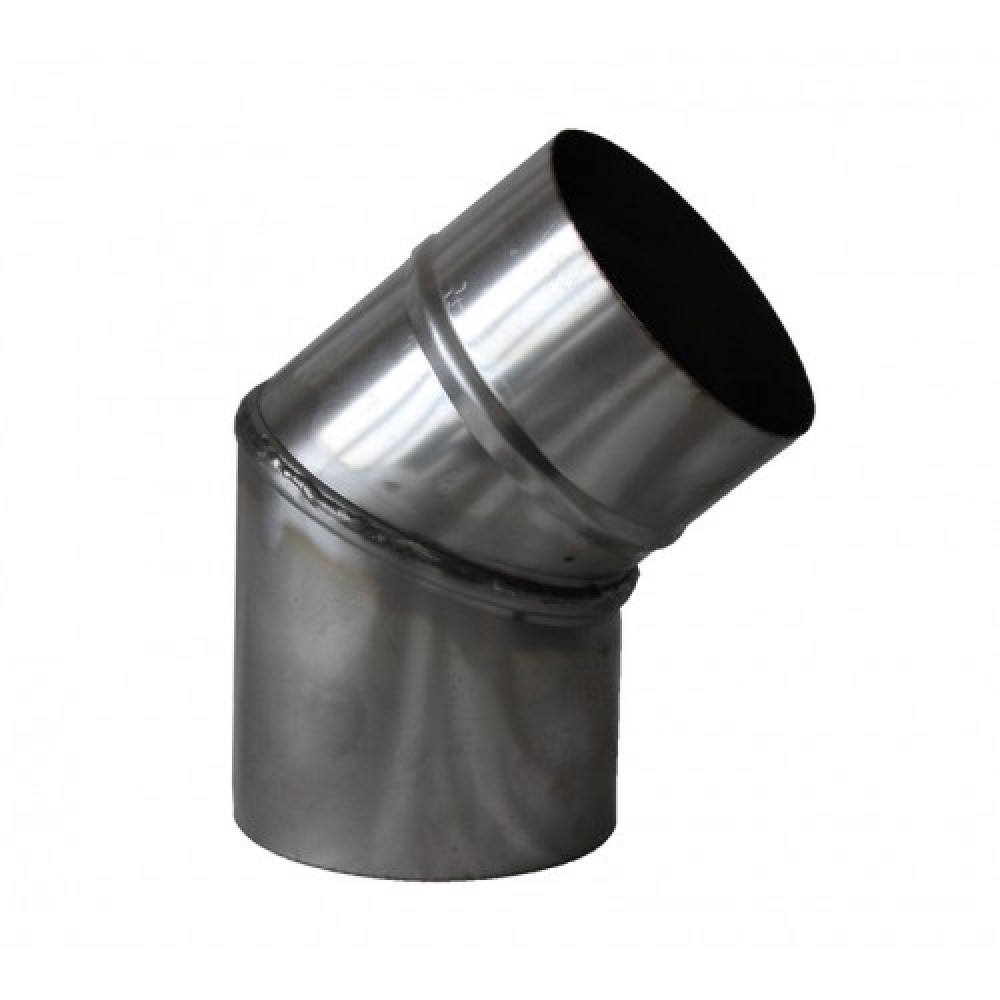 Отвод 45° (нерж. 1 мм)
