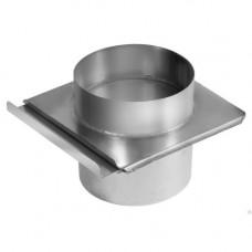Шибер-задвижка 0,15 м (нерж. 1 мм)