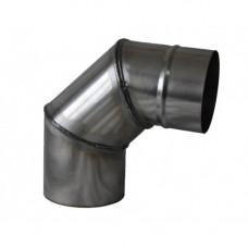 Отвод 90° (нерж. 1 мм)